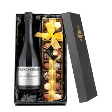 Contemporary Prosecco with Chocolates Giftpack
